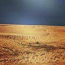 Stormy landscape by Jonesyinc