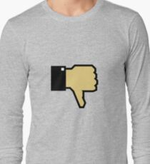 I don't like this! (Thumb Down) Long Sleeve T-Shirt