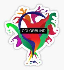 COLORBLIND Sticker