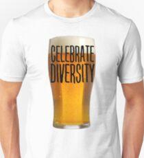 Celebrate Beer Diversity shirt Unisex T-Shirt