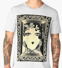 ART DECO Dolly in picture frame , Jacqueline Mcculloch House of Harlequin Men's Premium T-Shirt