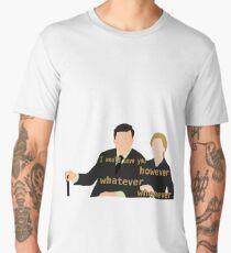 DA: Anna e Bates + quote Men's Premium T-Shirt