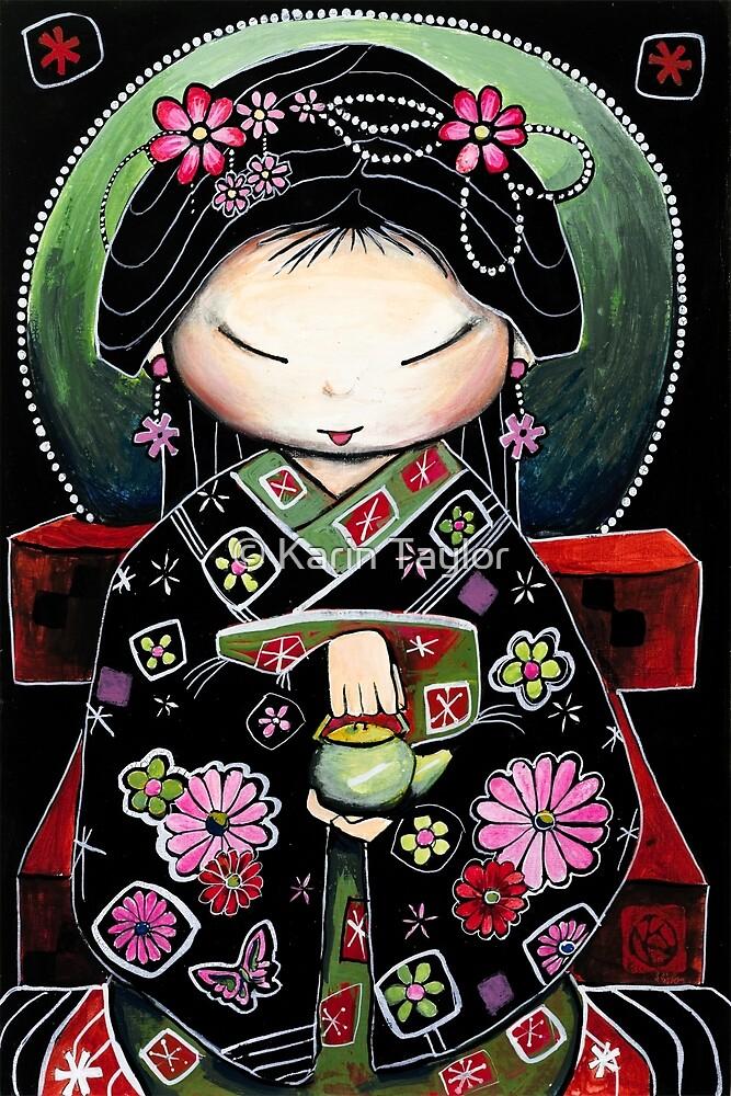 Little Green Teapot by Karin Taylor