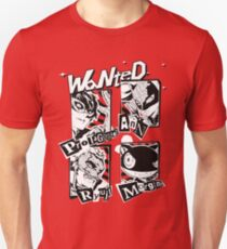 Persona 5 Wanted Unisex T-Shirt