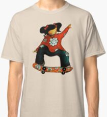 Skater Girl TShirt by Karin Taylor Classic T-Shirt