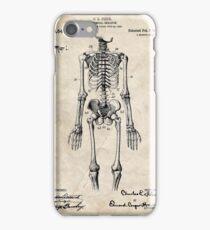 Anatomical Skeleton Patent iPhone Case/Skin