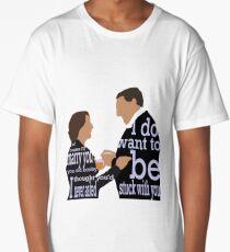 DA: Hughes e Carson + quotes Long T-Shirt