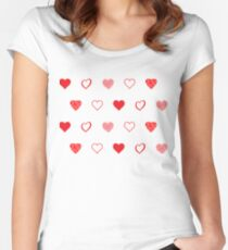 Hearts And Hearts Women's Fitted Scoop T-Shirt