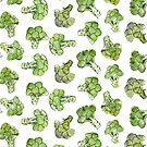 Broccoli - Scattered by Vicky Webb