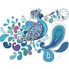 Paisley Peacock by © Karin Taylor