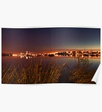 Canning River Sunrise Poster