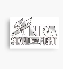 NRA Stand and Fight! Canvas Print