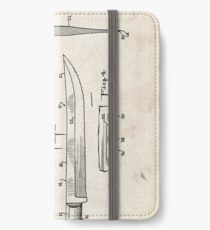 Knife Patent iPhone Wallet/Case/Skin