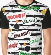 Pattern of comic book page Graphic T-Shirt