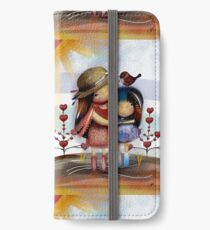Love and Friendship iPhone Wallet/Case/Skin