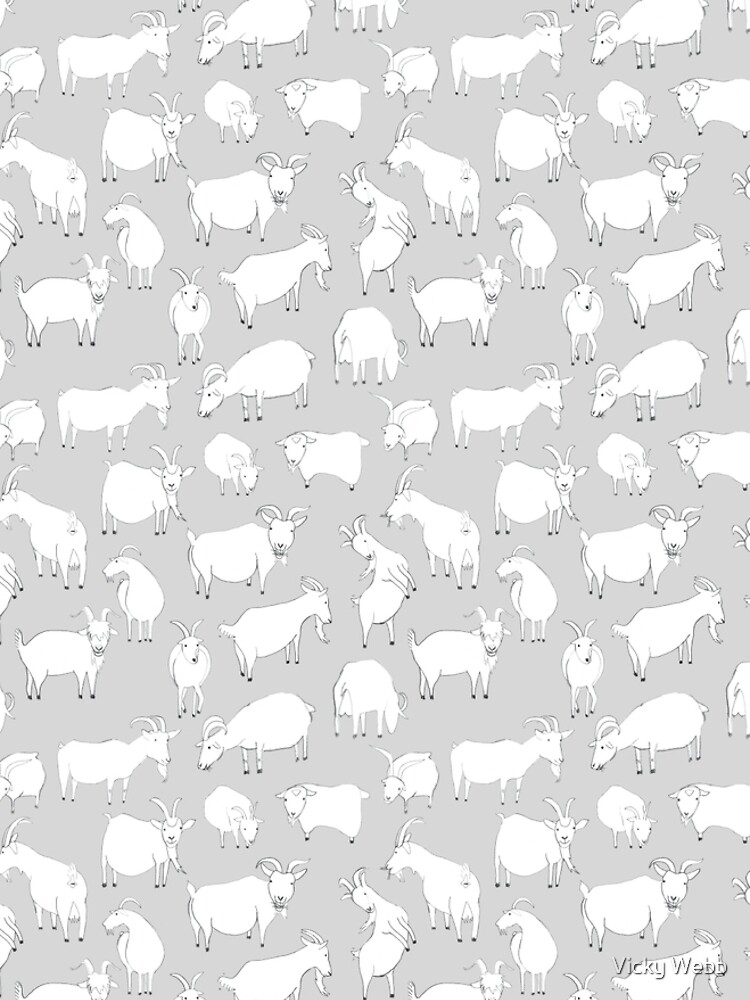 Charity Fundraiser - Grey  Goats by crumpsticks