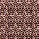 Leopard Print Chevron by Valerie Hartley Bennett