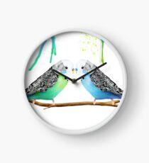 Budgie Love Clock