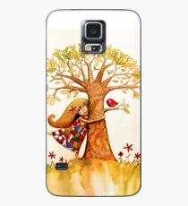 tree hugs Case/Skin for Samsung Galaxy