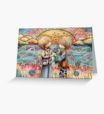 For you with Love Greeting Card