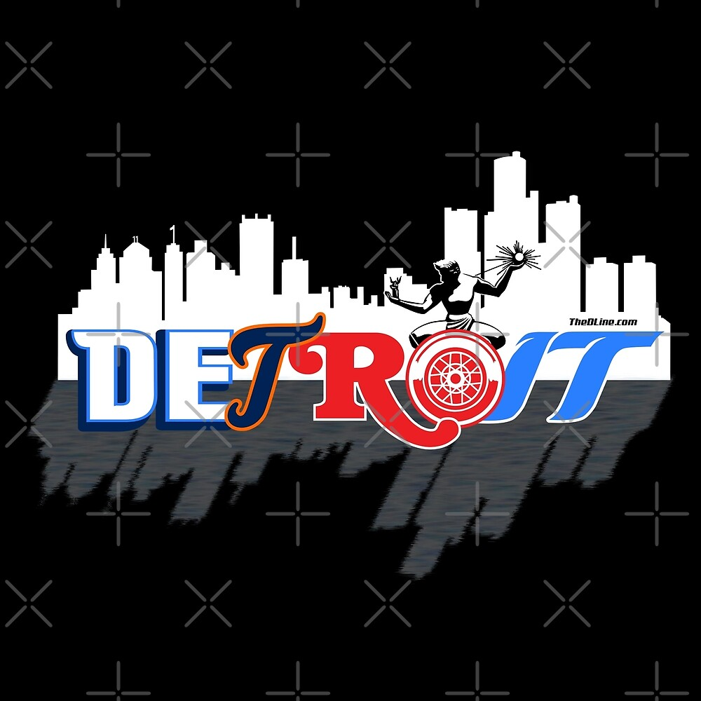 Detroit Sports City by thedline