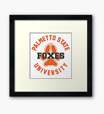 PSU Foxes Framed Print