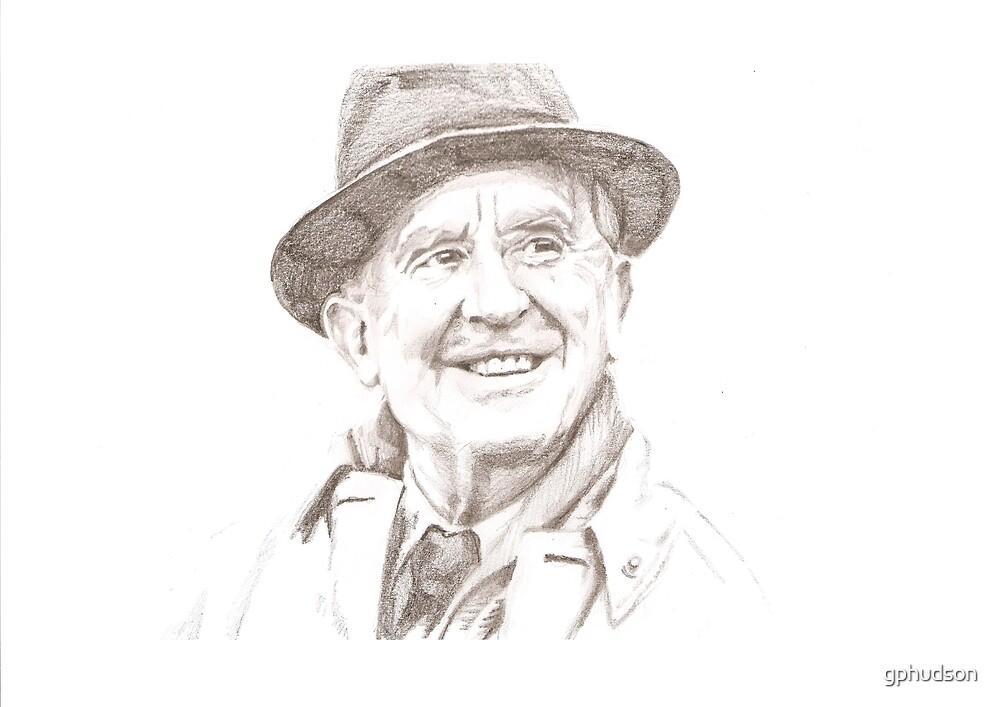 J. R. R. Tolkien in hat by gphudson