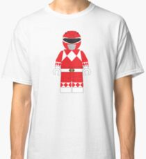 LEGO RED POWER RANGER Classic T-Shirt