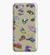 A lot of cars of different types. iPhone Case/Skin