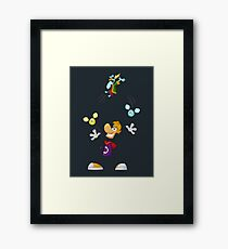 Juggling Framed Print