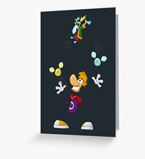 Juggling Greeting Card