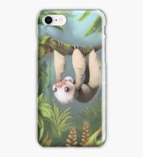 Sloth with Baby iPhone Case/Skin