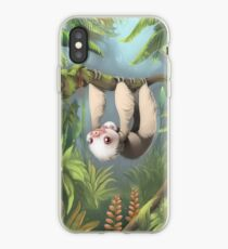 Sloth with Baby iPhone Case