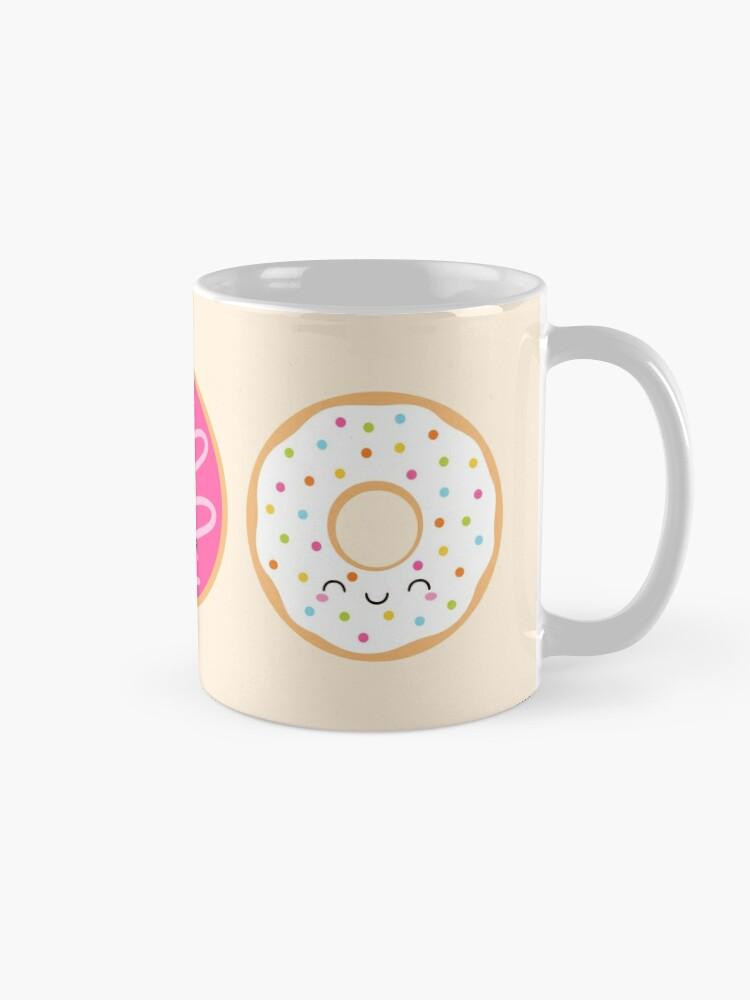 Alternate view of Cute Donuts Trio Mug