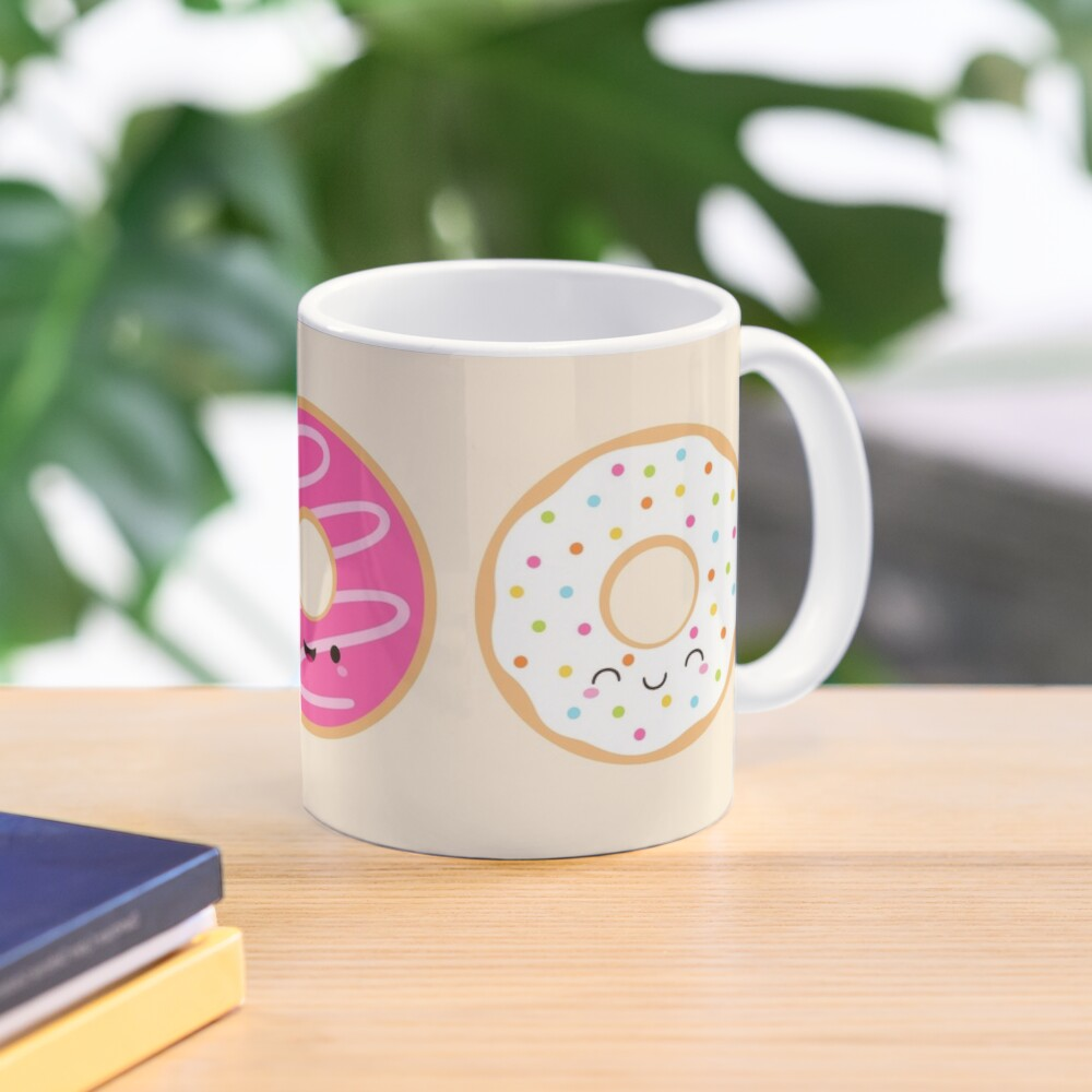 Cute Donuts Trio Mug