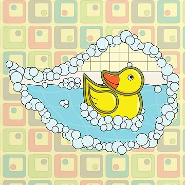 Chaucer the Rubber Duck by ValerieDesigns