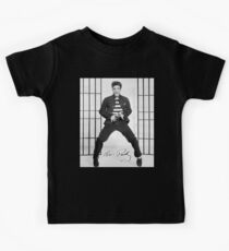 Elvis Presley, Jailhouse Rock, King of Rock and Roll Kids Tee