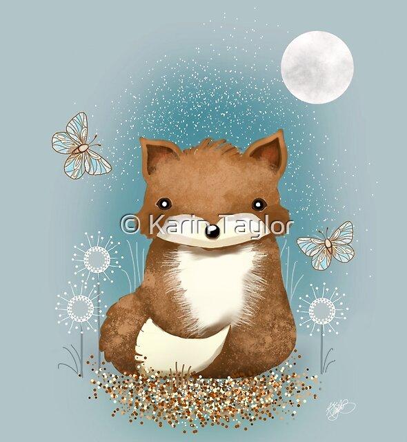 Baby Fox by Karin Taylor
