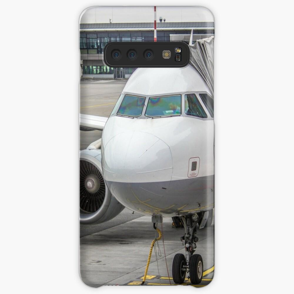 Lufthansa A320 Hülle & Klebefolie für Samsung Galaxy