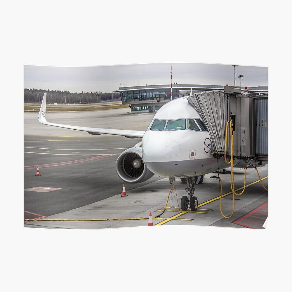 Lufthansa A320 Poster