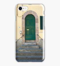 Door in Lucca iPhone Case/Skin