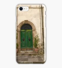 Bikes of Lucca 2 iPhone Case/Skin