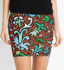 Art is wallpaper Mini Skirt