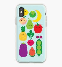 5 A Day Fruit & Vegetables iPhone Case