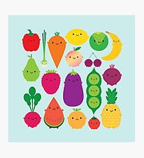 5 A Day Fruit & Vegetables Photographic Print