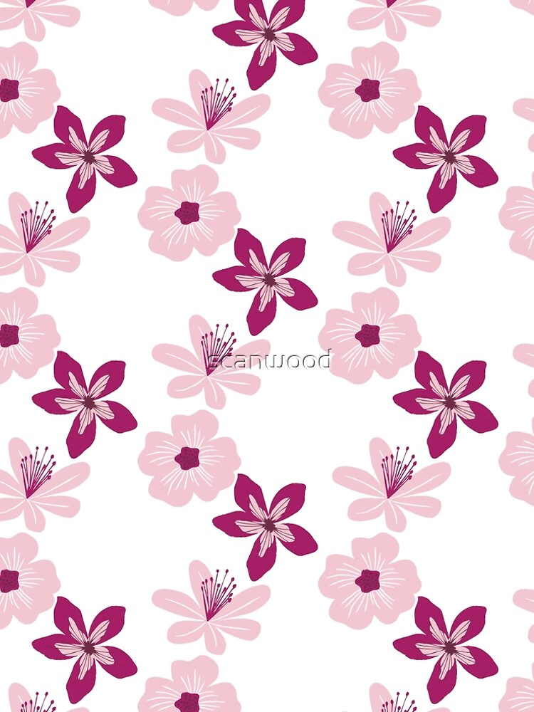 Pink Blossoms by scanwood