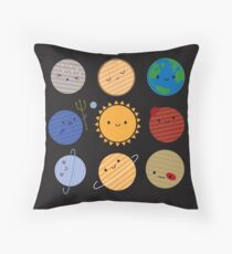 Say Hello to the Solar System! Throw Pillow
