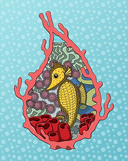 Tanga the Seahorse by Valerie Hartley Bennett