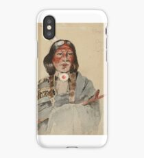 HENRY FARNY () Minnechiga, Ogalalah Sioux () iPhone Case/Skin
