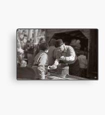 Sugaring Off with Uncle Harry Canvas Print